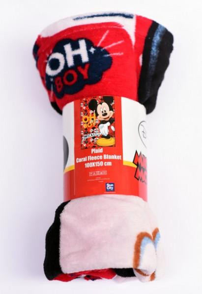 Poze Patura copii fleece Mikey Disney ( stoc limitat )