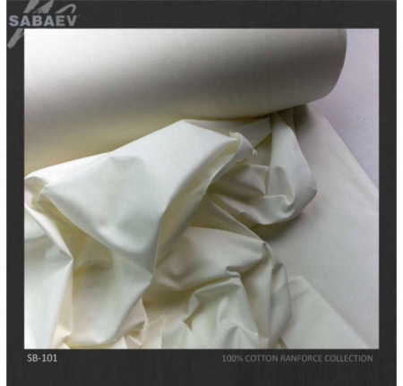 Bumbac ranforce imprimat UNI IVOIRE rola 30m/240cm