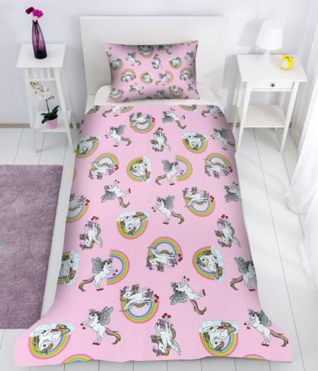 Lenjerie de pat copii Love Pony