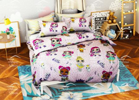 Poze Lenjerie de pat copii LOL friends