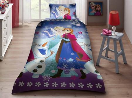 Poze Lenjerie de pat Elsa si Anna snow ( stoc limitat )