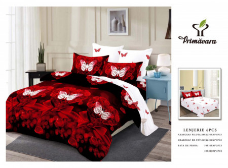 Poze Lenjerie de pat matrimonial Fashion Home