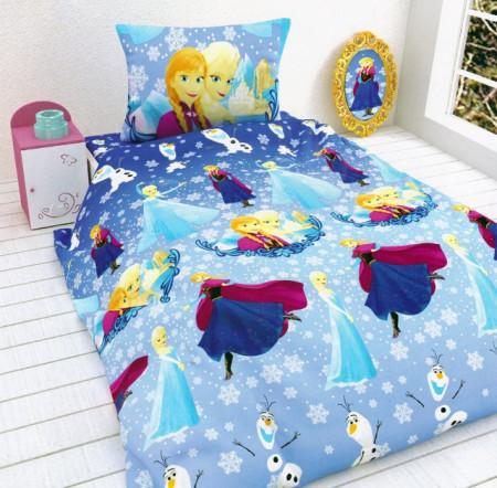 Poze Lenjerie de pat copii Elsa & Anna ( stoc limitat )