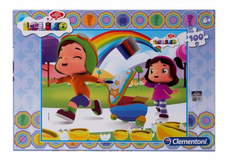 Poze Puzzle Clementoni 100 piese, Leliko, 38 x 30 cm