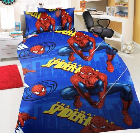 Poze Lenjerie de pat copii Amazing Spiderman 2 ( stoc limitat )