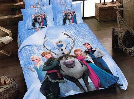 Poze Lenjerie de pat copii Frozen ( stoc limitat )