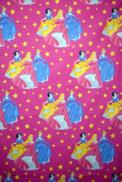Bumbac ranforce imprimat pentru copii model Princesses rola 40m/225cm