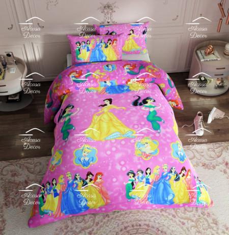 """Poze Lenjerie de pat copii """"Princesses"""""""