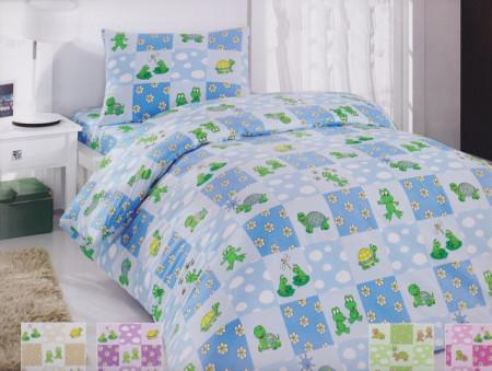 Poze Lenjerie de pat copii Happy Turtle