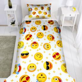 Lenjerie de pat copii Happy faces