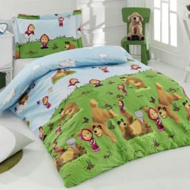 Lenjerie de pat copii Masha ( stoc limitat )