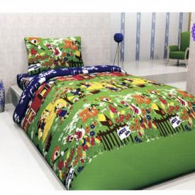 Lenjerie de pat copii Mikey Farm bumbac ( stoc limitat )