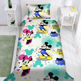 Lenjerie de pat copii Mikey & Minnie Disney ( stoc limitat )