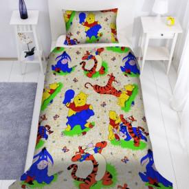 Lenjerie de pat copii Winnie the Pooh Disney ( stoc limitat )