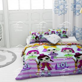 Lenjerie de pat copii LOL stars
