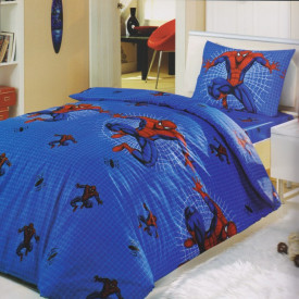 Lenjerie de pat copii Spiderman