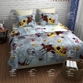 Lenjerie de pat copii Christmas stars