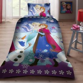 Lenjerie de pat Elsa si Anna snow ( stoc limitat )