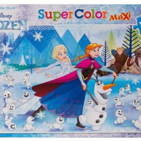 Puzzle Clementoni 104 piese, Elsa si Anna Frozen, 68 x 48 cm
