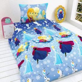Lenjerie de pat copii Elsa & Anna ( stoc limitat )