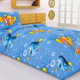 Lenjerie de pat copii Nemo & Dory ( stoc limitat )