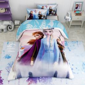 Lenjerie de pat copii Frozen 2 Journey