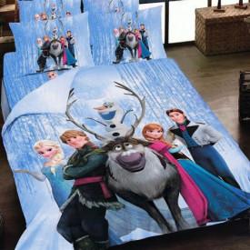 Lenjerie de pat copii Frozen ( stoc limitat )