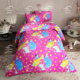 Lenjerie de pat copii Princesses stars