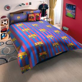 Lenjerie de pat copii Barcelona ( stoc limitat )