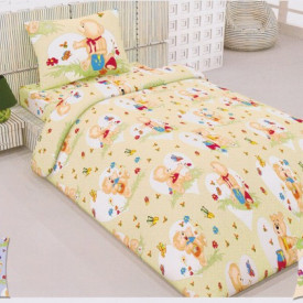 Lenjerie de pat copii Honey Bear