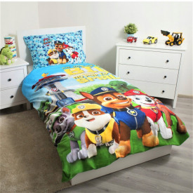 Lenjerie de pat copii Paw Patrol team