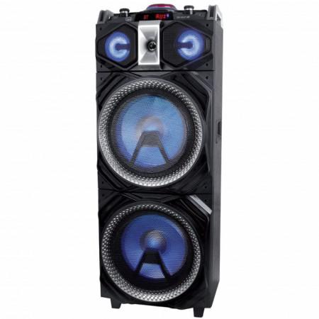 Boxa portabilă Trevi X-Fest 4000 DJ, Bluetooth, funcție Karaoke, 300W