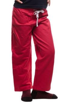 Pantaloni rosi din bumbac pentru fete