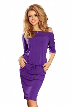 Rochie casual violet