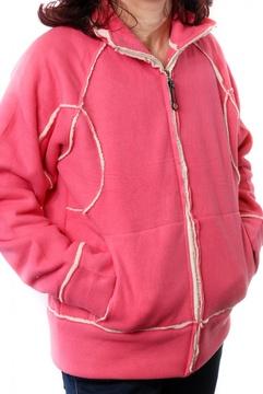 Jacheta roz cu blanita