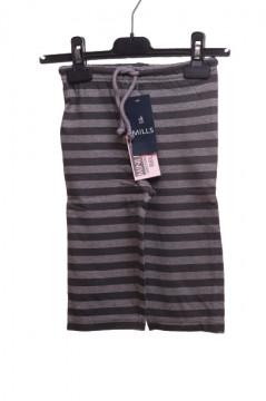 Pantaloni in dungi din bumbac