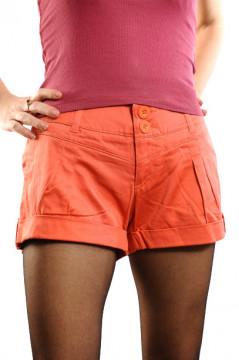 Pantaloni portocali scurti