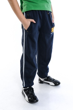 Pantaloni sport bleumarin
