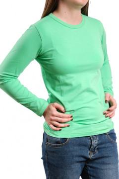 Tricou din bumbac verde