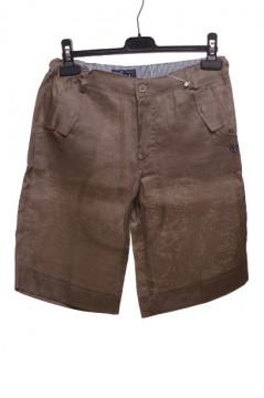 Pantaloni scurti maro pentru baieti