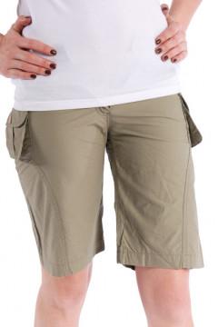 Pantaloni scurti maro
