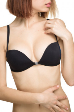 Sutien push up negru