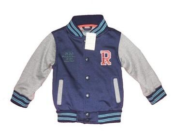 Jacheta bleumarin cu capse pentru baieti