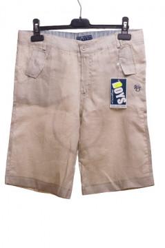 Pantaloni scurti bej pentru baieti