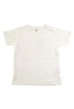 Tricou alb din bumbac