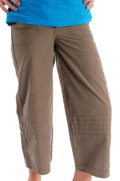 Pantalon maro 3/4 din bumbac