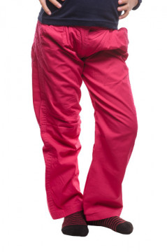 Pantaloni fuchsia cu buzunare
