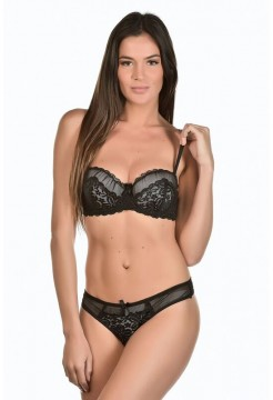 Set sutien cu push-up si slip