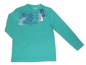 Tricou verde cu imprimeu