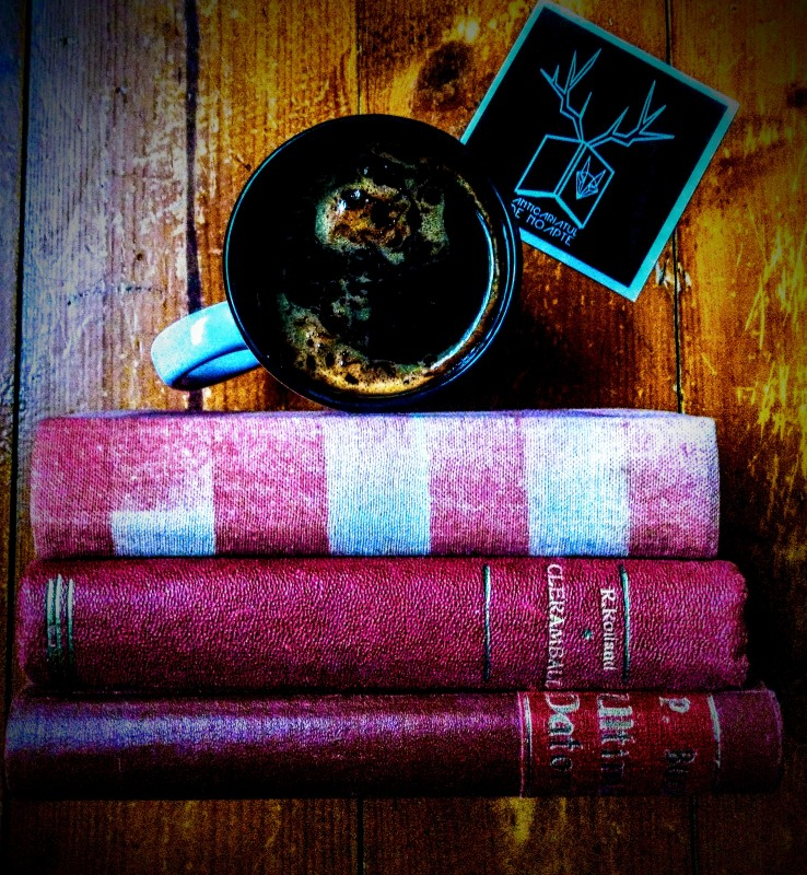 Coffee. Books. Spring.